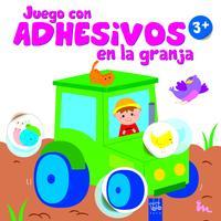 Libro JUEGO CON ADHESIVOS EN LA GRANJA +3. TRACTOR