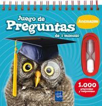 Libro JUEGO DE PREGUNTAS DE 1 MINUTO: 1000 PREGUNTAS Y RESPUESTAS DE ANIMALES