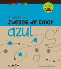 Libro JUEGOS DE COLOR AZUL