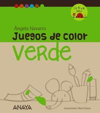 Libro JUEGOS DE COLOR VERDE