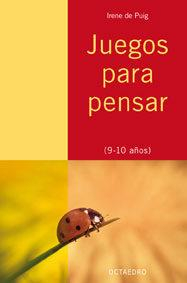 Libro JUEGOS PARA PENSAR