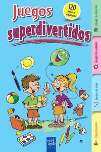 Libro JUEGOS SUPERDIVERTIDOS