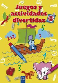 Libro JUEGOS Y ACTIVIDADES DIVERTIDAS: AMARILLO