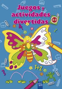 Libro JUEGOS Y ACTIVIDADES DIVERTIDAS: AZUL