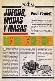 Libro JUEGOS, MODAS Y MASAS