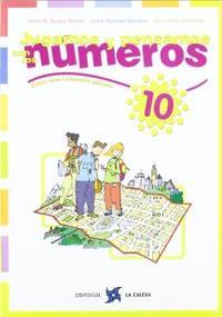Libro JUGAMOS  Y PENSAMOS CON LOS NÚMEROS 10 EDUCACION PRIMARIA