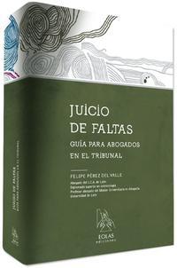 Libro JUICIO DE FALTAS