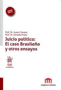 Libro JUICIO POLITICO: EL CAXO BRASILEÑO Y OTROS ENSAYOS