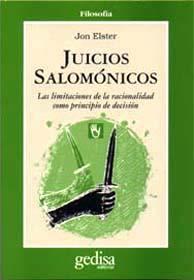 Libro JUICIOS SALOMONICOS