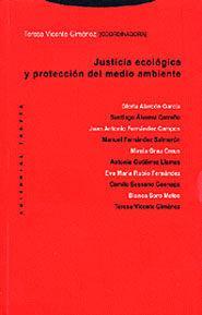 Libro JUSTICIA ECOLOGICA Y PROTECCION DEL MEDIO AMBIENTE