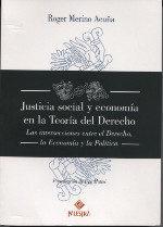 Libro JUSTICIA SOCIAL Y ECONOMIA EN LA TEORIA DE DERECHO