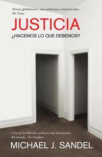 Libro JUSTICIA: ¿HACEMOS LO QUE DEBEMOS?
