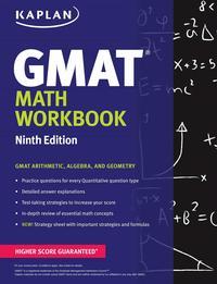Libro KAPLAN GMAT MATH WORKBOOK