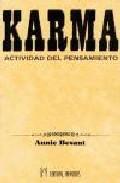 Libro KARMA: ACTIVIDAD DEL PENSAMIENTO