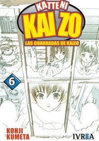Libro KATTENI KAIZO Nº 6: LAS GUARRADAS DE KAIZO