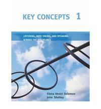 Libro KEY CONCEPTS 1 LISTENING