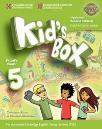 Libro KID S BOX ESS 5 2ED UPDATED PB