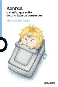 Libro KONRAD O EL NIÑO QUE SALIÓ DE UNA LATA DE SARDINAS