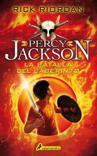 Libro LA BATALLA DEL LABERINTO (PERCY JACKSON #4)