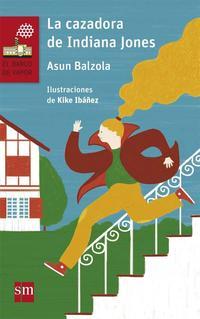 Libro LA CAZADORA DE INDIANA JONES