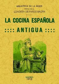 Libro LA COCINA ESPAÑOLA ANTIGUA