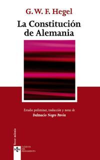 Libro LA CONSTITUCION DE ALEMANIA
