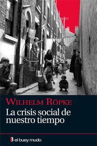 Libro LA CRISIS SOCIAL DE NUESTRO TIEMPO