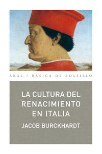 Libro LA CULTURA DEL RENACIMIENTO EN ITALIA