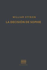 Libro LA DECISION DE SOPHIE