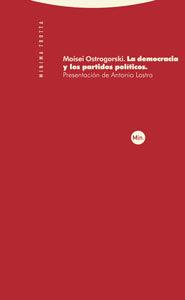 Libro LA DEMOCRACIA Y LOS PARTIDOS POLITICOS