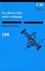 Libro LA DESERCION UNIVERSITARIA