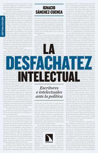 Libro LA DESFACHATEZ INTELECTUAL