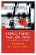 Libro LA DIOSA DEL PUBIS AZUL