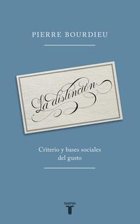 Libro LA DISTINCION