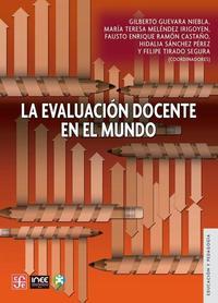 Libro LA EVALUACION DOCENTE EN EL MUNDO