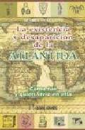 Libro LA EXISTENCIA Y DESAPARICION DE LA ATLANTIDA