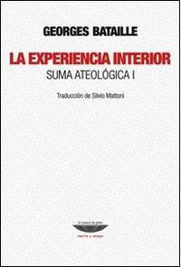 Libro LA EXPERIENCIA INTERIOR