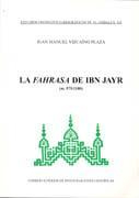 Libro LA FAHRASA DE IBN JAYR