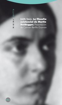 Libro LA FILOSOFIA EXISTENCIAL DE MARTIN HEIDEGGER