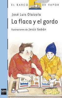 Libro LA FLACA Y EL GORDO