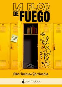 Libro LA FLOR DE FUEGO