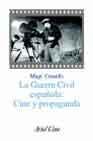 Libro LA GUERRA CIVIL ESPAÑOLA: CINE Y PROPAGANDA