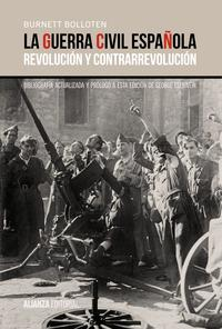 Libro LA GUERRA CIVIL ESPAÑOLA: REVOLUCION Y CONTRARREVOLUCION