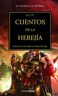Libro LA HEREJIA DE HORUS Nº 10: CUENTOS DE LA HEREJIA
