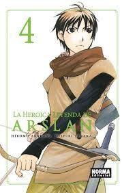 Libro LA HEROICA LEYENDA DE ARSLAN 4