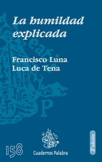 Libro LA HUMILDAD EXPLICADA