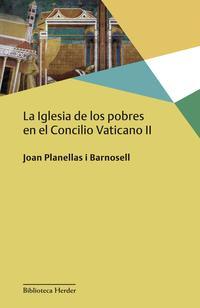 Libro LA IGLESIA DE LOS POBRES EN EL CONCILIO VATICANO II