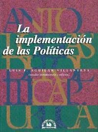 Libro LA IMPLEMENTACION DE LAS POLITICAS