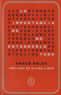 Libro LA IMPORTANCIA DE NO ENTENDERLO TODO