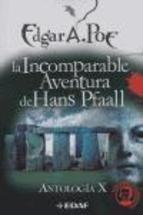 Libro LA INCOMPARABLE AVENTURA DE HANS PFAALL